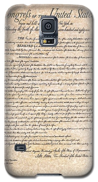 Bill Of Rights Galaxy S5 Case