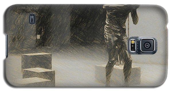 Bill Russell Statue Galaxy S5 Case