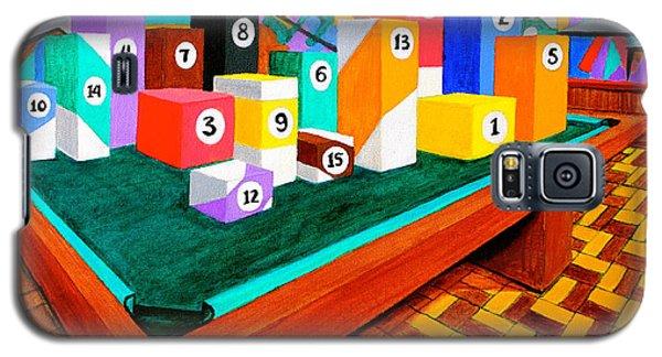 Billiard Table Galaxy S5 Case by Cyril Maza