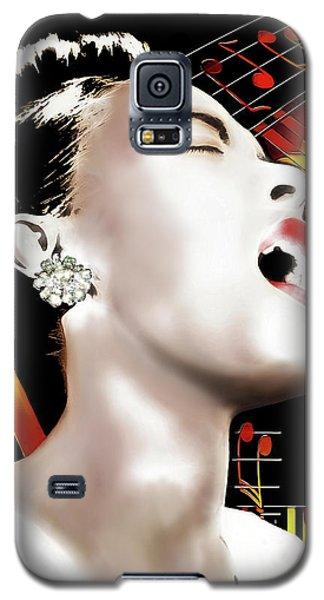 Billie Holiday Galaxy S5 Case by Pennie McCracken