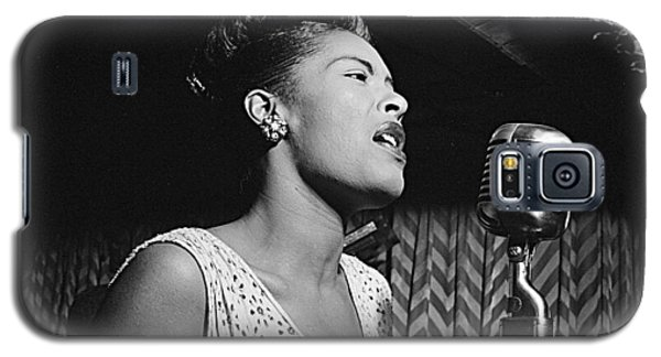 Billie Holiday William Gottlieb Photo New York City 1947 Galaxy S5 Case