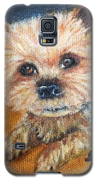 Galaxy S5 Case featuring the painting Billy by Sharon Schultz