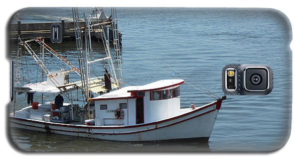 Bilouxi Shrimp Boat Galaxy S5 Case by Cynthia Powell