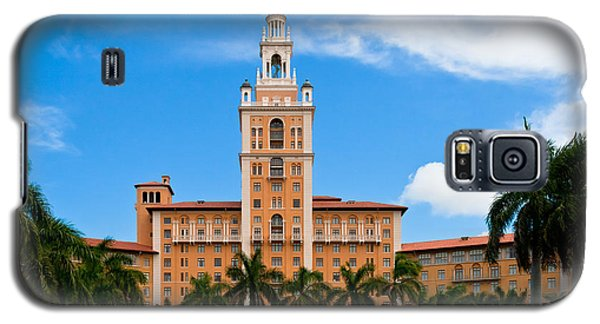 Galaxy S5 Case featuring the photograph Biltmore Hotel by Ed Gleichman