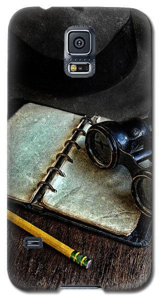 Binoculars Fedora And Notebook Galaxy S5 Case