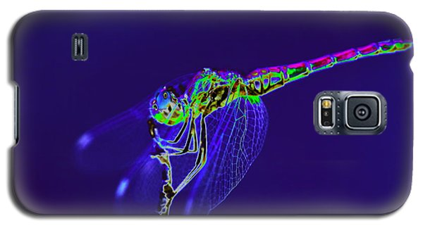 Bioluminescent Dragonfly Galaxy S5 Case