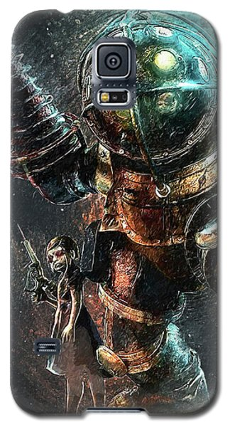 Bioshock Galaxy S5 Case by Taylan Apukovska