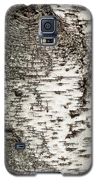 Galaxy S5 Case featuring the photograph Birch Tree Bark by Christina Rollo