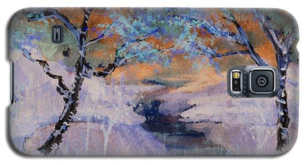 Birch Trees On The Ridge 2 Galaxy S5 Case