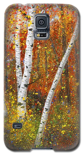 Birches Galaxy S5 Case by Garry McMichael