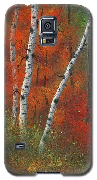 Birches II Galaxy S5 Case by Garry McMichael