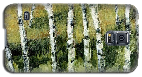 Birches On A Hill Galaxy S5 Case