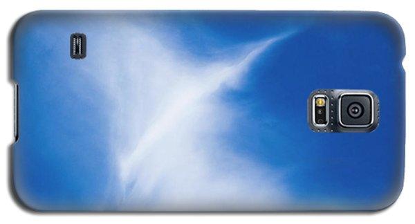 Galaxy S5 Case featuring the photograph Bird Cloud by Yulia Kazansky