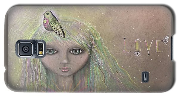 Bird From Spirit World  Galaxy S5 Case