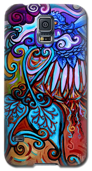Bird Heart II Galaxy S5 Case by Genevieve Esson