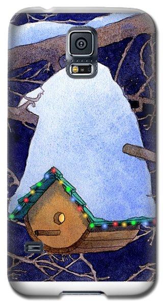 Bird House Christmas Galaxy S5 Case