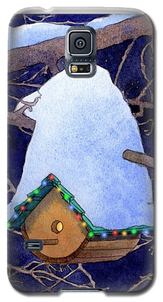 Bird House Christmas Galaxy S5 Case