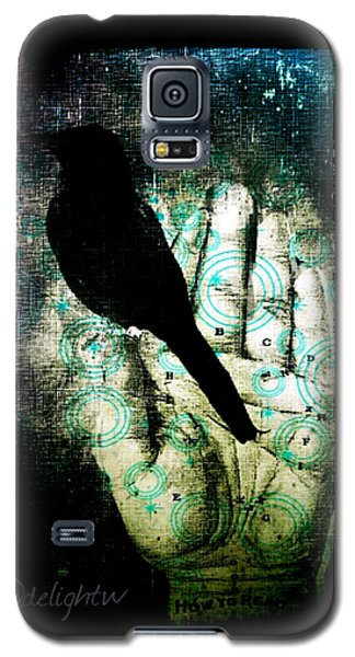 Bird In Hand Galaxy S5 Case