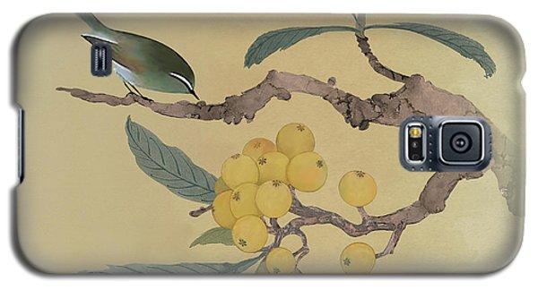 Bird In Loquat Tree Galaxy S5 Case