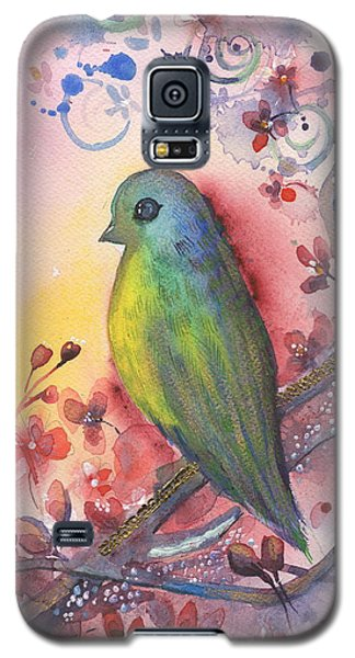 Bird In Paradise   Galaxy S5 Case