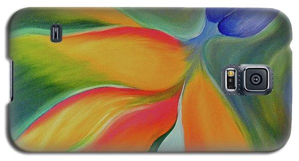 Bird Of Paradaise Galaxy S5 Case by Fanny Diaz