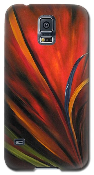 Bird Of Paradise Galaxy S5 Case by Carol Sweetwood