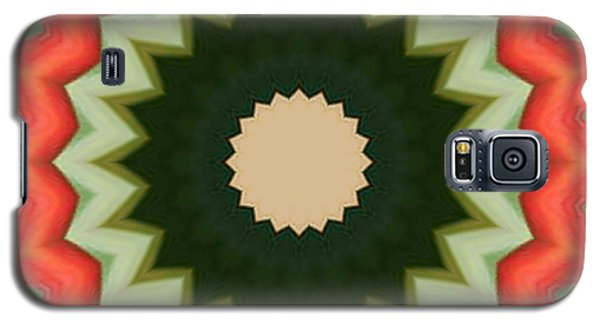 Bird Of Paradise Kaleidoscope Galaxy S5 Case by Bill Barber