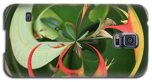Bird Of Paradise Orb Galaxy S5 Case by Bill Barber