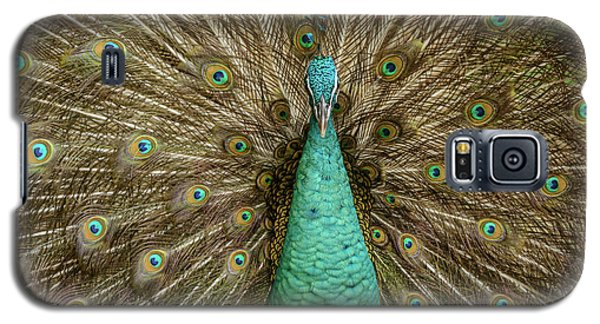 Galaxy S5 Case featuring the photograph Peacock by Werner Padarin