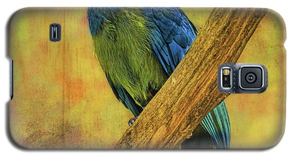 Bird On A Branch Galaxy S5 Case by Lewis Mann
