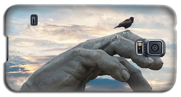 Bird On Hand Galaxy S5 Case