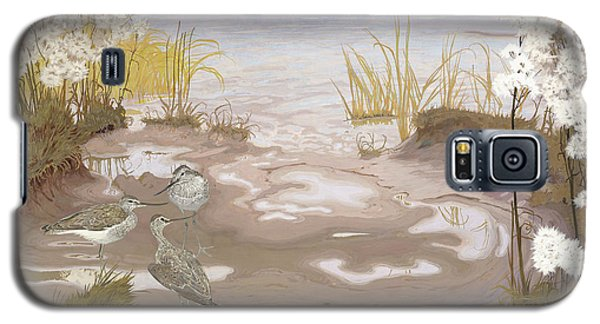 Bird On The Mud Flats Of The Elbe Galaxy S5 Case