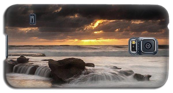 Bird Rock Clearing Storm Galaxy S5 Case