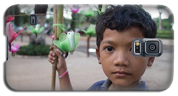 Bird Selling Boy Galaxy S5 Case