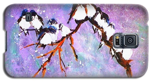 Bird Snowfall Limited Edition Print 1-25 Galaxy S5 Case