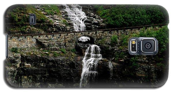 Bird Woman Falls Bridge Galaxy S5 Case
