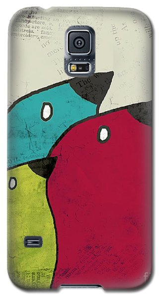 Birdies - V101s1t Galaxy S5 Case by Variance Collections