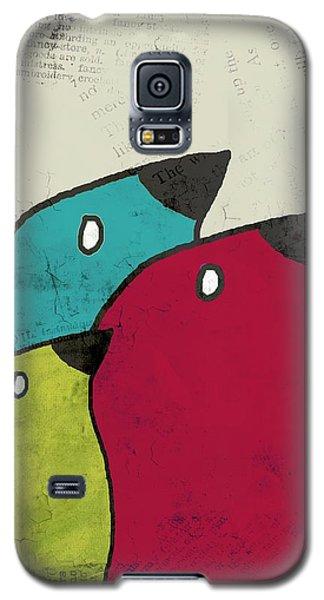 Birdies - V101s1t Galaxy S5 Case