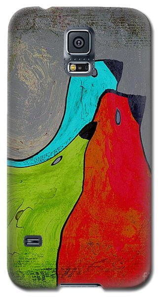 Birdies - V110b Galaxy S5 Case by Variance Collections