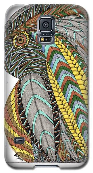 Bird_inquisitive_s007 Galaxy S5 Case