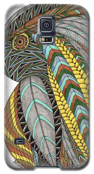 Bird_inquisitive_s007 Galaxy S5 Case