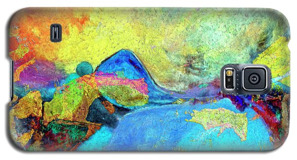 Galaxy S5 Case featuring the painting Birdland by Dominic Piperata