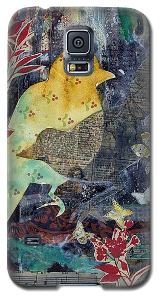 Birds And Butterflies Galaxy S5 Case