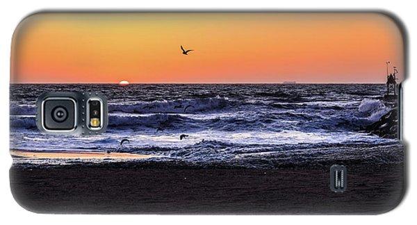 Birds At Sunrise Galaxy S5 Case