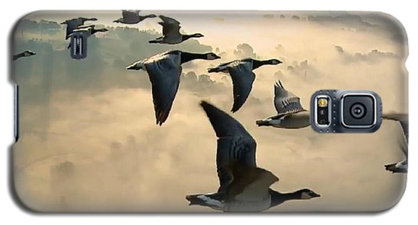 Birds In Flight Galaxy S5 Case