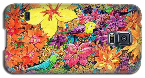 Birds In Paradise Galaxy S5 Case by Charles Cater