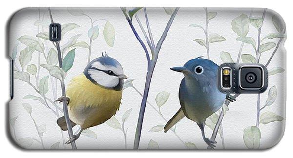 Birds In Tree Galaxy S5 Case