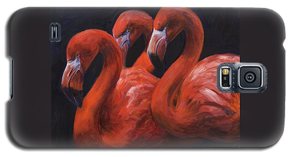 Birds Of A Feather Galaxy S5 Case by Billie Colson