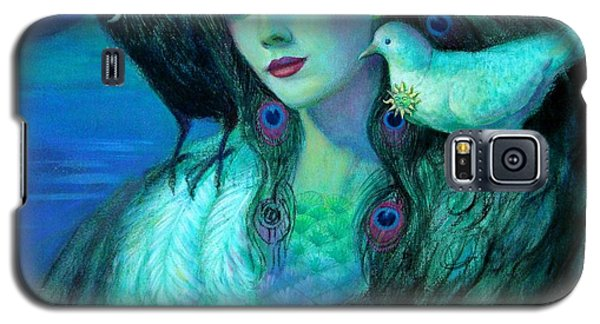 Birds Of Duality Fantasy Art Galaxy S5 Case