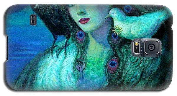 Birds Of Duality Fantasy Art Galaxy S5 Case